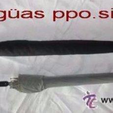Antigüedades: LOTE DE DOS PARAGUAS-SOMBRILLAS ANTIGUOS MANGOS DECORADOS,IDEAL COLECCIONISTAS. Lote 196990145