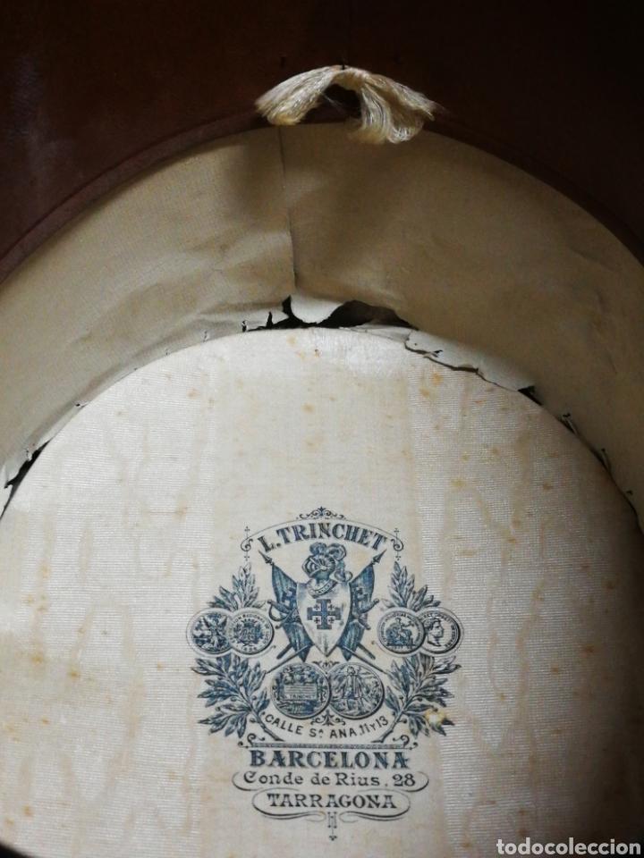 Antigüedades: PRECIOSA CHISTERA SOMBRERO DE COPA L.TRINCHET, BARCELONA- PRINCIPIOS S.XX, T-58 CON CAJA. - Foto 15 - 197035050