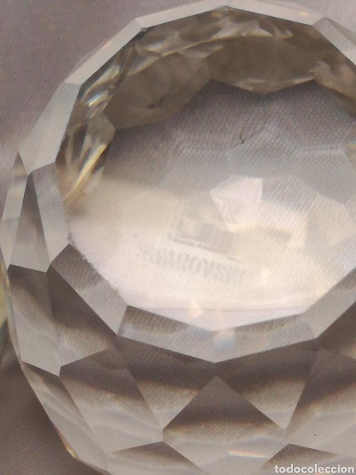 Antigüedades: Pareja búhos cristal swarovsky - Foto 4 - 197051667