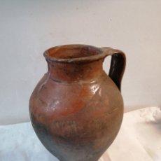 Antigüedades: CÁNTARO DE BARRO. Lote 197110488