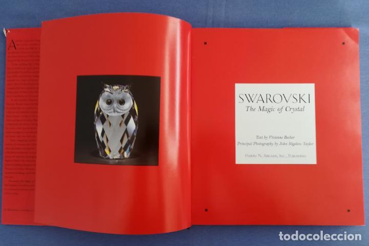 Antigüedades: Swarovski, The Magic of Crystal, firmado por los artistas Stamey & Hirzinger en 1997 - Foto 4 - 197125901