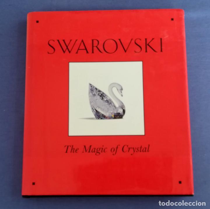 SWAROVSKI, THE MAGIC OF CRYSTAL, FIRMADO POR LOS ARTISTAS STAMEY & HIRZINGER EN 1997 (Antigüedades - Cristal y Vidrio - Swarovski)
