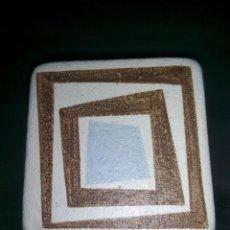 Antigüedades: AZULEJO DE CERÁMICA PINTADO A MANO. Lote 197142833