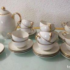 Antigüedades: JUEGO DE CAFE SANTA CLARA . Lote 197181817