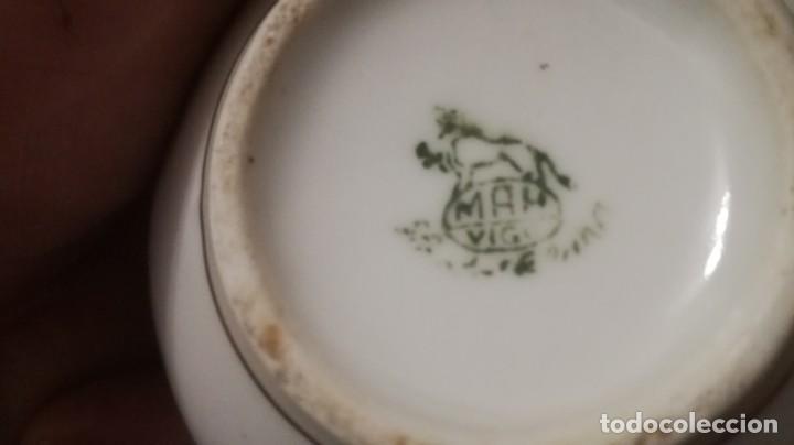Antigüedades: JUEGO DE CAFE SANTA CLARA - Foto 4 - 197181817