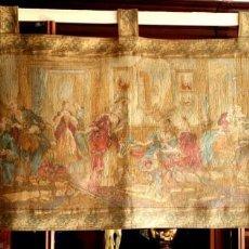 Antigüedades: FABULOSO TAPIZ ESCENA SIGLO XVIII FRANCIA - ENVÍO GRATIS PENÍNSULA. Lote 197201965