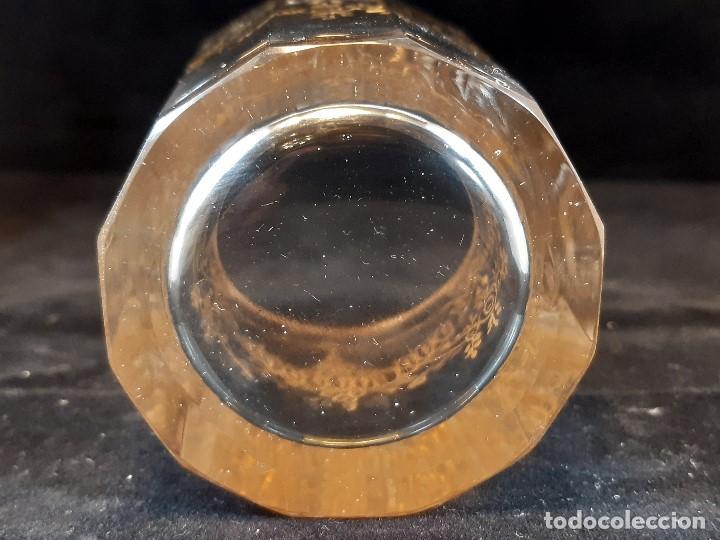 Antigüedades: 6 vasos. Cristal de la Granja. Principios Siglo XIX. - Foto 12 - 197208110