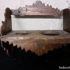 Antigüedades: CANTARERA ESTANTE SOPORTE CANTAROS. Lote 221949422