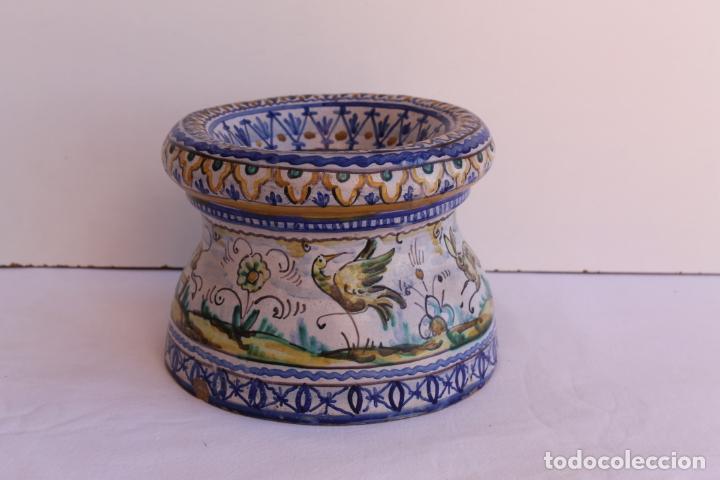 ESCUPIDERA DE CERAMICA DE TRIANA SIGLO XIX (Antigüedades - Porcelanas y Cerámicas - Triana)