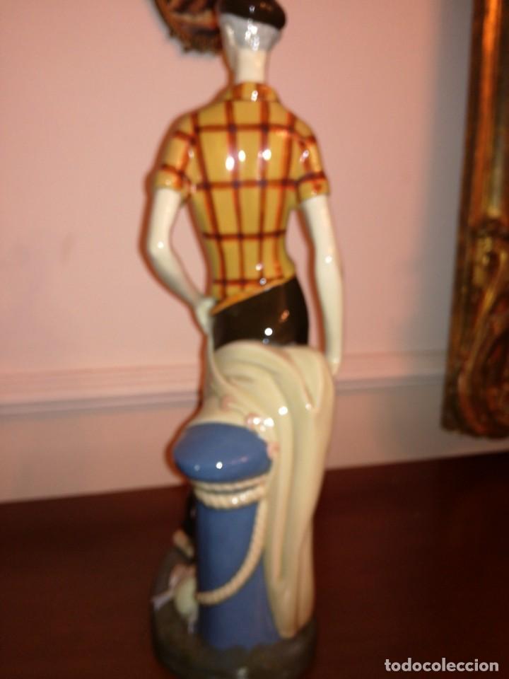 Antigüedades: Gran figura de porcelana Gama - Foto 4 - 197235472