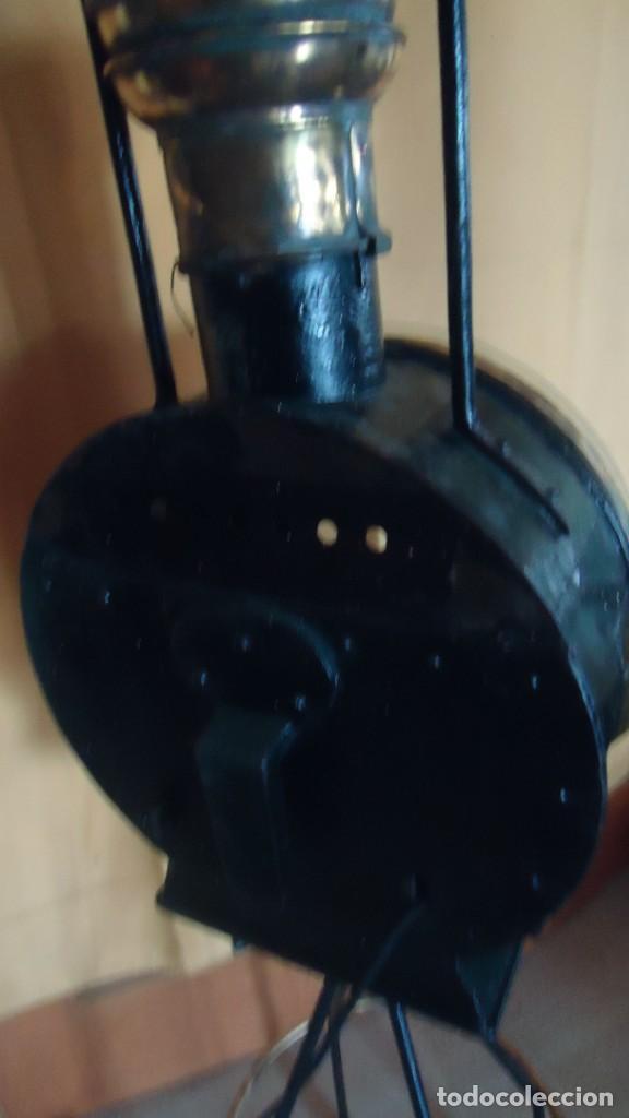 Antigüedades: Faroles de locomotora RENFE, (finales del XIX-principios del XX) - Foto 6 - 197238662
