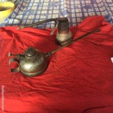Antigüedades: ENGRASADOR DE CARRO AÑOS 1920 30 40 50 GRASA ACEITE COJINETE. Lote 197257963