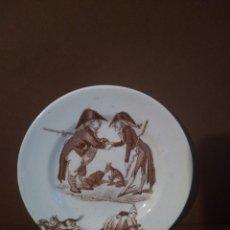 Antigüedades: PLATO K & G LUNÉVILLE 10 CM. Lote 197330480