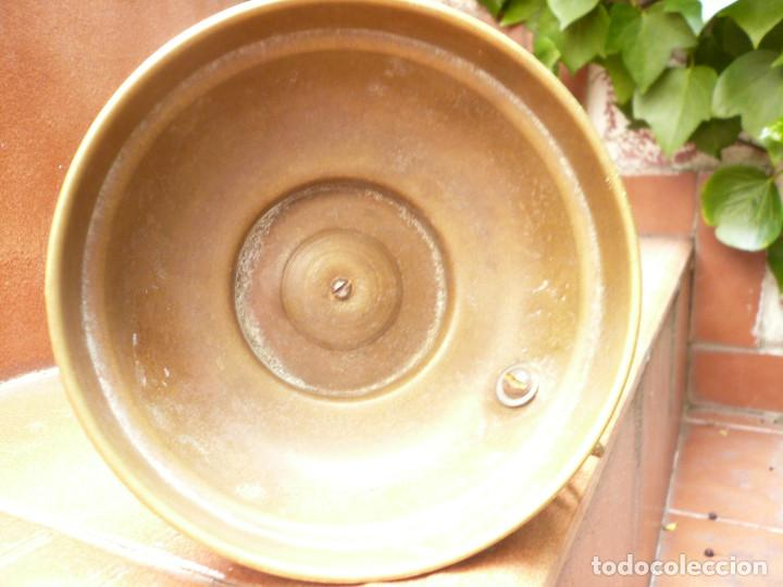 Antigüedades: ANTIGUO PORTAVELAS DE LATÓN FRANCIA - Foto 3 - 197339466