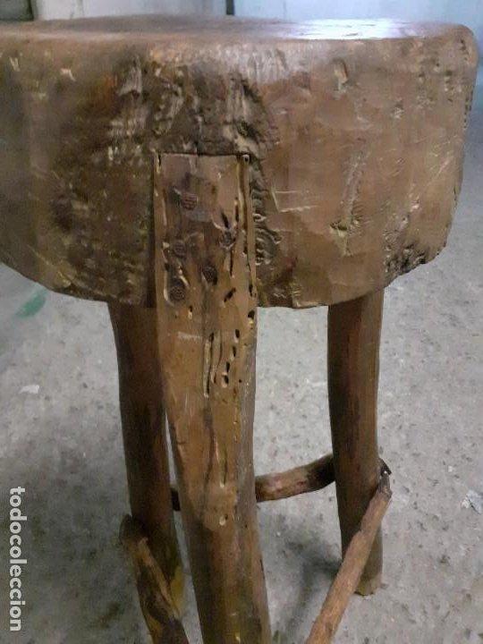 Antigüedades: Tajo de carnicero - Foto 3 - 197360828