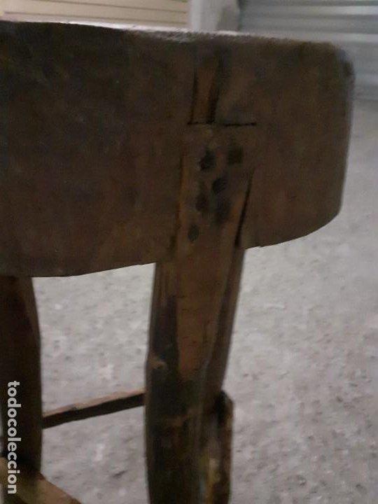Antigüedades: Tajo de carnicero - Foto 5 - 197360828