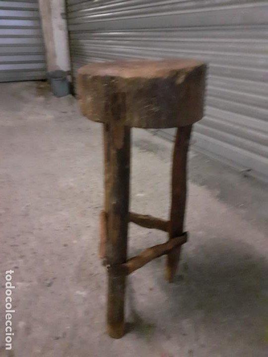 Antigüedades: Tajo de carnicero - Foto 6 - 197360828