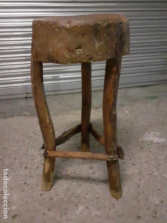 TAJO DE CARNICERO (Antigüedades - Técnicas - Rústicas - Ganadería)