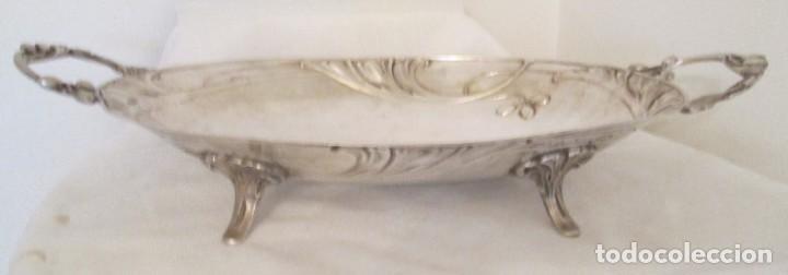 Antigüedades: Preciosa bandeja para pasteles o centro de mesa. Art Nouveau. Circa 1900. - Foto 2 - 197424701