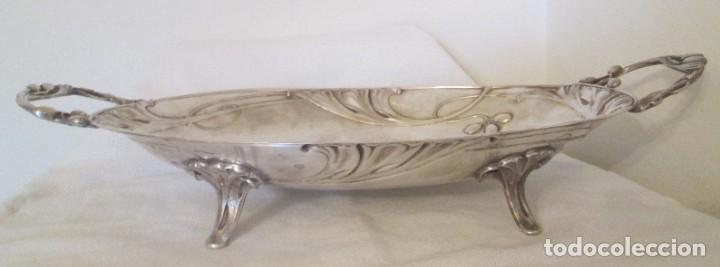 Antigüedades: Preciosa bandeja para pasteles o centro de mesa. Art Nouveau. Circa 1900. - Foto 5 - 197424701