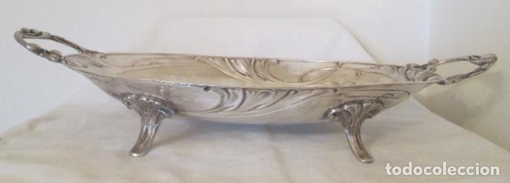 Antigüedades: Preciosa bandeja para pasteles o centro de mesa. Art Nouveau. Circa 1900. - Foto 6 - 197424701