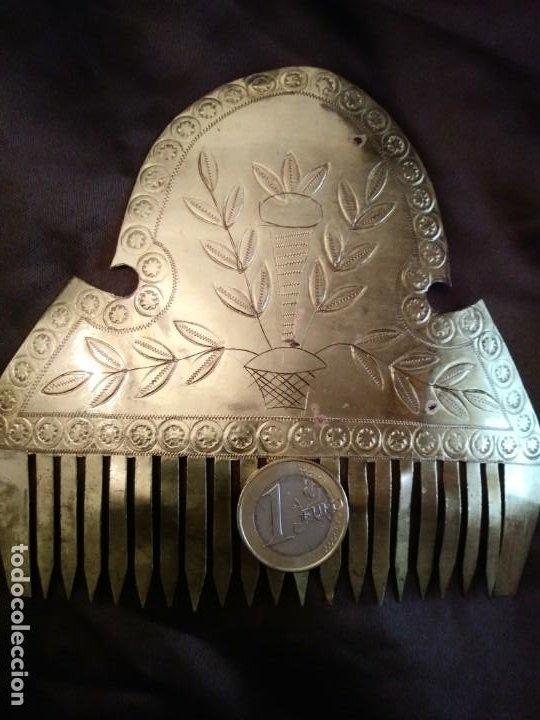 Antigüedades: ANTIGUAS PEINETAS INDUMENTARIA - Foto 4 - 197430696