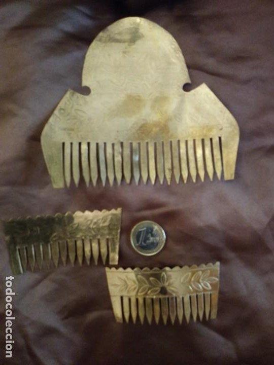Antigüedades: ANTIGUAS PEINETAS INDUMENTARIA - Foto 5 - 197430696