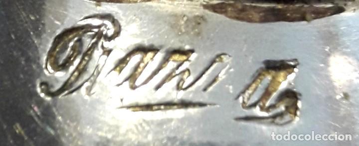 Antigüedades: Paper Cutter Época Victoriana Sellado Con Imagen Cervantes. - Foto 3 - 197472892