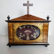Antigüedades: NICHO RELICARIO FRANCÉS ESTILO IMPERIO, SIGLO XIX.. Lote 197477472