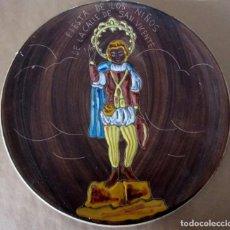 Antigüedades: PRECIOSO PLATO PORCELANA CERAMISTA CASES MANISES VALENCIA. FIESTA DE LOS NIÑOS DE CALLE SAN VICENTE. Lote 197515546