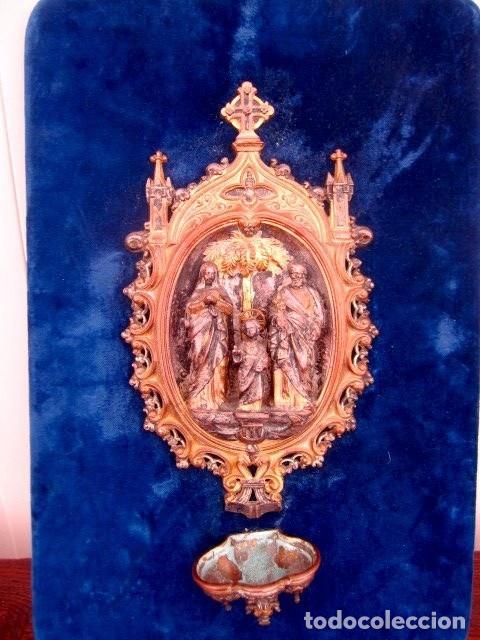 Antigüedades: Benditera antigua , Sagrada Familia - Foto 2 - 197522177