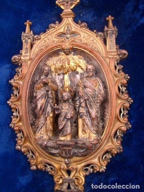 Antigüedades: Benditera antigua , Sagrada Familia - Foto 3 - 197522177