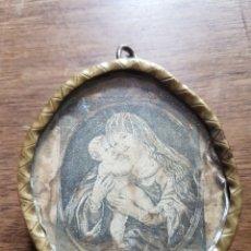 Antigüedades: ANTIGUO Y GRAN RELICARIO DE BRONCE Y CRISTAL SIGLO XVII RELIQUIAS DE MUCHOS SANTOS. Lote 197529875