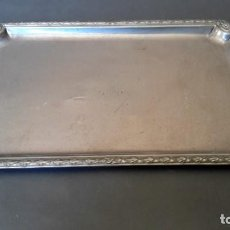 Antigüedades: BANDEJA DE PLATA 916/000. Lote 197538850