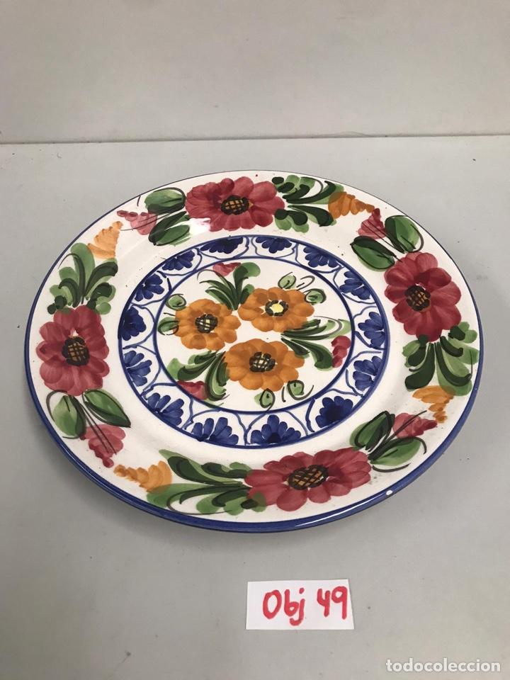 PLATO DECORATIVO TALAVERA (Antigüedades - Porcelanas y Cerámicas - Talavera)