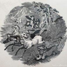 Antigüedades: EXCEPCIONAL FUENTE,BANDEJA DE LA FABRICA LA AMISTAD,CARTAGENA,(MURCIA),S.XIX. Lote 197589416