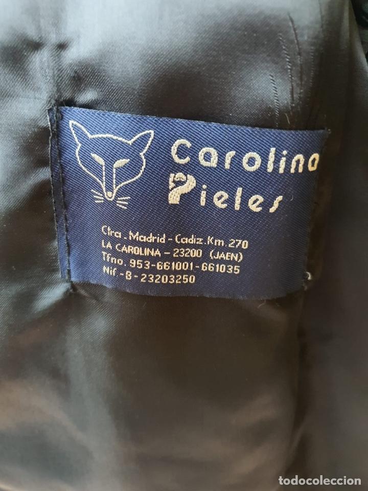 Antigüedades: Antiguo abrigo de astracán, largo, muy buena conservación - Foto 11 - 197591992