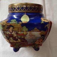 Antigüedades: FLORERO POT-POURRÍ INGLES. Lote 197593575