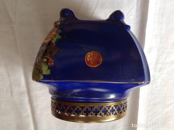Antigüedades: Florero Pot-pourrí ingles - Foto 2 - 197593575