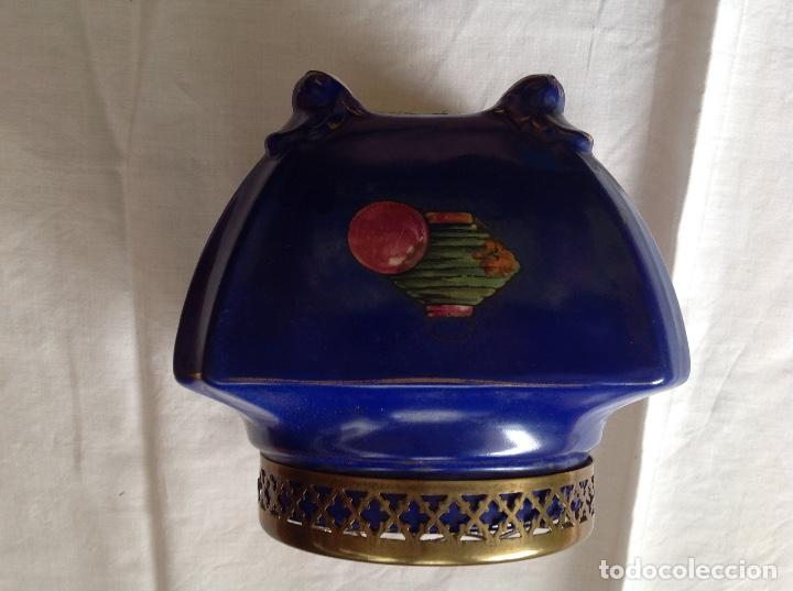 Antigüedades: Florero Pot-pourrí ingles - Foto 3 - 197593575