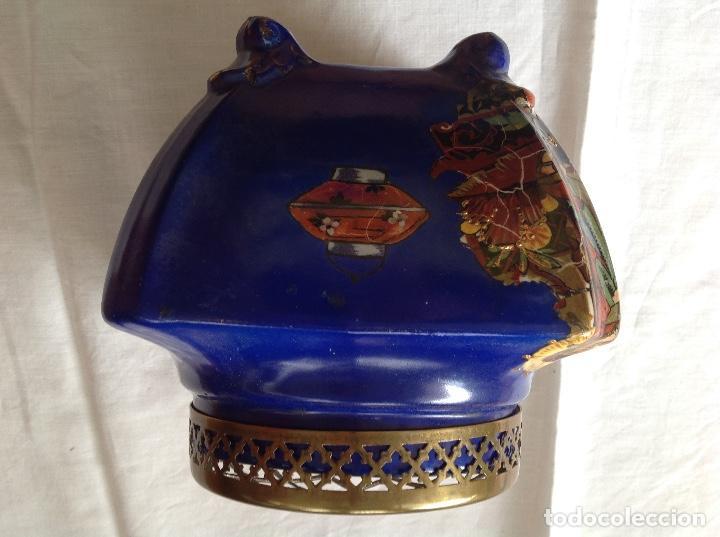 Antigüedades: Florero Pot-pourrí ingles - Foto 4 - 197593575