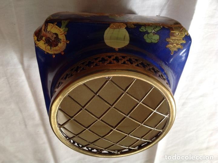 Antigüedades: Florero Pot-pourrí ingles - Foto 5 - 197593575