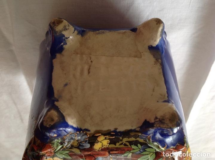 Antigüedades: Florero Pot-pourrí ingles - Foto 6 - 197593575