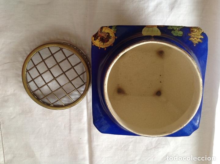 Antigüedades: Florero Pot-pourrí ingles - Foto 7 - 197593575