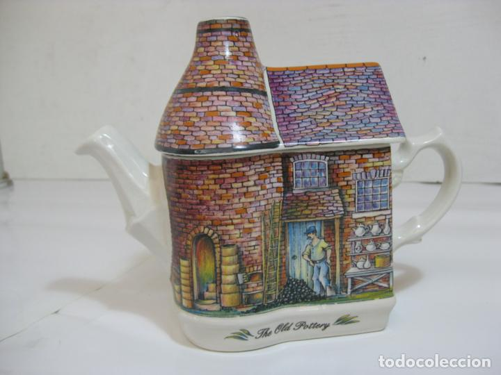 TETERA SADLER - THE OLD POTTERY - PERFECTA (Antigüedades - Porcelanas y Cerámicas - Inglesa, Bristol y Otros)