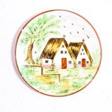 Antigüedades: PLATO DE CERÁMICA ANTIGUO. Lote 197650215