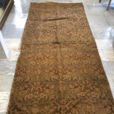 Antigüedades: EXCEPCIONAL TEJIDO RELIGIOSO S. XVIII. Lote 197676182