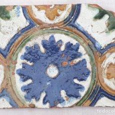 Antigüedades: AZULEJO ANTIGUO DE TOLEDO - ARISTA O CUENCA - RENACIMIENTO - SIGLO XVI.. Lote 197779218