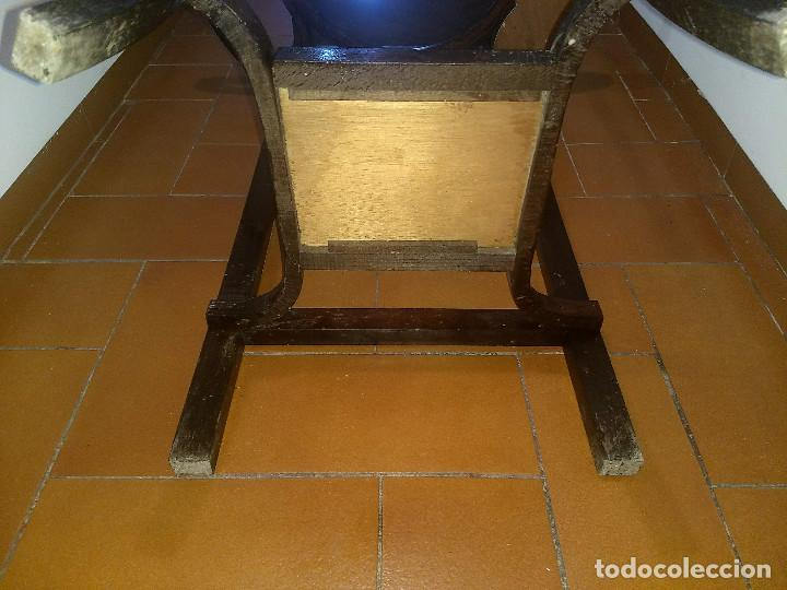 Antigüedades: Antiguo mueble lavamanos. Con Jofaina, aguamanil y espejo original. Principios del Siglo XX - Foto 29 - 197844547