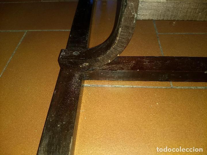 Antigüedades: Antiguo mueble lavamanos. Con Jofaina, aguamanil y espejo original. Principios del Siglo XX - Foto 32 - 197844547